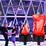 Symboat LED Faux Flamme Lampe Effet De Feu Décoration De La Maison Torche Lumière pour Halloween Prop Partie de la marque Symboat image 3 produit