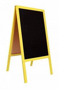Tableau noir STOP chevalet / enseigne pour trottoir en bois CODE FL YELLOW de la marque DWA image 0 produit