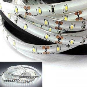 Tailcas® Étanche Ruban à LED Bande Lights Strip LED Barre Lumineuse 5 Mètres 300 LEDs SMD 3014 Super-Lumineux pour La Décoration et L'éclairage - Blanc de la marque Tailcas image 0 produit