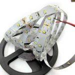 Tailcas® Super-Lumineux Ruban à LED Bande / Light Strip LED / Barre Lumineuse 5 Mètres 300 LEDs SMD 3014 pour La Décoration et L'éclairage - Pas Étanche - Blanc de la marque Tailcas image 2 produit