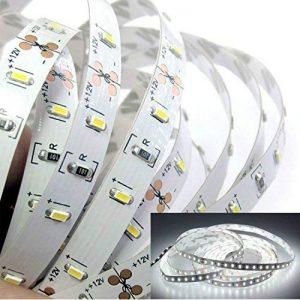 Tailcas® Super-Lumineux Ruban à LED Bande / Light Strip LED / Barre Lumineuse 5 Mètres 300 LEDs SMD 3014 pour La Décoration et L'éclairage - Pas Étanche - Blanc de la marque Tailcas image 0 produit