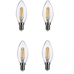 TAOtTAO 4pc Lampe LED E12120V Ampoule LED Ampoule LED Alimentation réelle 4.5W Lampe Chaud Lampada de la marque TAOtTAO image 0 produit