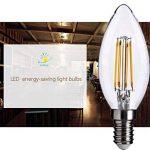 TAOtTAO 4pc Lampe LED E12120V Ampoule LED Ampoule LED Alimentation réelle 4.5W Lampe Chaud Lampada de la marque TAOtTAO image 2 produit
