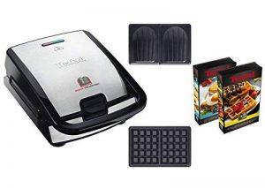 Tefal SW853D12 Snack Collection Machine à Gaufres et Croques Noir/Inox de la marque Tefal image 0 produit