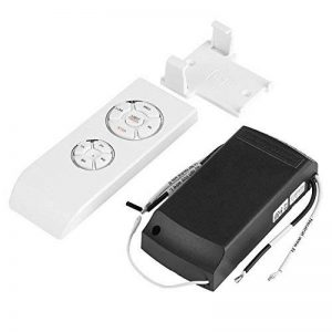 Télécommande de ventilateur Kit Contrôle à distance sans fil universel 4 temps 3 vitesses pour Ventilateur et Lampe de plafond avec Connecteur récepteur de la marque Yosoo image 0 produit