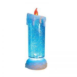 The Benross Christmas Workshop Bougie LED à eau et paillettes 24 cm de la marque The Benross Christmas Workshop image 0 produit