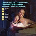 TOPELEK 4 LED Lampe de Lecture de Cou Rechargeable Flexible Mains Libres avec 3 Niveaux de Luminosité Réglable Câble USB Inclus Lampe de Nuit pour Livre, Lecture, Sport, Course, Activités Extérieures Dans La Nuit de la marque TOPELEK image 1 produit
