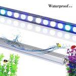 Toplanet 54w Led pour Aquarium LED Bande Nano Fish Tank Light Bleu Lumière 55CM Imperméable IP 65 pour Corail Récif Poisson Croissance de la marque TOPLANET image 4 produit