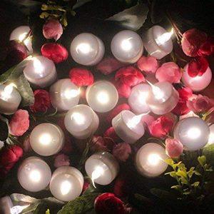 Topstone Flammeless de Topstone Lampe de thé LED télécommandée, chaude ampoule vacillante blanche, bougie votive à piles LED, bougies réalistes et lumineuses Faux, pour la célébration saisonnière et Festival, lot de 12 de la marque Topstone image 0 produit