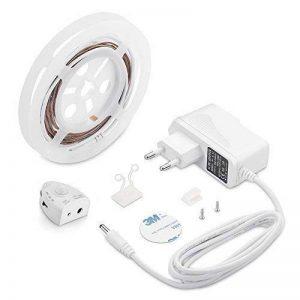 TurnRaise Ruban LED Lumière de Nuit Détecteur de Mouvement, Flexible Lampe de rétroéclairage Lampe de Chevet Souple décoratif (1 Bande) de la marque TurnRaise image 0 produit