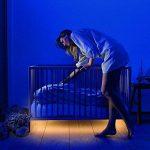 TurnRaise Ruban LED Lumière de Nuit Détecteur de Mouvement, Flexible Lampe de rétroéclairage Lampe de Chevet Souple décoratif (1 Bande) de la marque TurnRaise image 4 produit
