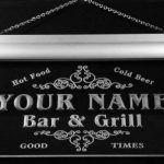u32437-b NICE Family Name Bar & Grill Home Brew Beer Neon Sign Enseigne Lumineuse de la marque ADV PRO image 1 produit