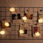 Uchic 1.5m 10led Creative LED batterie Smile Cloud Night Lights mignon LED Guirlande lumineuse Lampes pour chambre bébé fête Vacances Décor lumière blanc chaud de la marque UChic image 2 produit