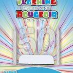Unique Party - Bougeoir d'Anniversaire Clignotant aux Couleurs Changeantes de la marque Unique Party image 1 produit