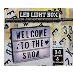 Up Close Boîte Lumineuse LED Lightbox (Format A4) Live, Love, Laugh (30cm x 22cm) de la marque Up Close image 1 produit