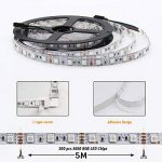 【Upgrade】 Ruban de LED, Jirvyuk Ruban de LED Multicolores 5050 RGB SMD Flexible Kit de Ruban à LED- 32.8ft (10M) 300 LEDs + Adapteur + Alimentation + Télécommande à Infrarouge 44 Touches de la marque Jirvyuk image 3 produit