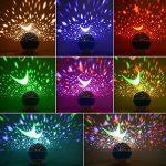 Veilleuse Enfants LED Projecteur Etoiles - Lampe de Projection LED Veilleuse Enfants Étoiles Projecteur de Voûte Étoilée de Nuit Etoiles Bébé Lampe de Chevet d'Ambiance 360° Rotation Pour Cadeau Fils Fille Décoration Chambre Enfants Party Soirée Bar Maria image 3 produit