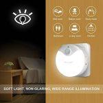 Veilleuse LED Autocollante, TeckNet Eclairage de nuit avec détecteur de mouvement & Détecteur de Lumière, Enfichable, AC 220-240V de la marque TeckNet image 3 produit