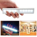 Veilleuse, YouGer Portable LED PIR Détecteur de mouvement Light Strip Light pour garde-robe de tiroir de placard (blanc chaud) de la marque YooGer image 1 produit