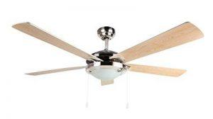 ventilateur de plafond avec lumière et télécommande TOP 2 image 0 produit