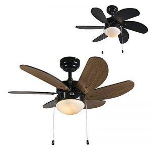 ventilateur de plafond noir TOP 2 image 0 produit