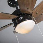 ventilateur de plafond noir TOP 2 image 3 produit