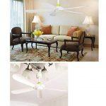 Ventilateur de plafond/petit ventilateur de maison/dortoir salon petit ventilateur de plafond/5 feuilles ventilateur silencieux mini/diamètre 70cm ventilateur blanc à économie d'énergie de la marque Electric fan image 3 produit