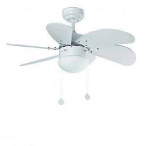 ventilateur plafond blanc avec luminaire TOP 0 image 0 produit