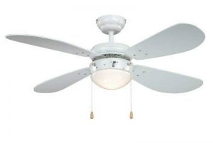 ventilateur plafond blanc avec luminaire TOP 3 image 0 produit
