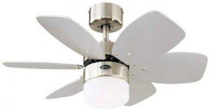 ventilateur plafond silencieux avec télécommande TOP 0 image 0 produit