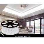 Viktion - 220V 15m SMD 5050 LED Ruban Bande Strip 900 LEDs éclairage étanche waterproof - utiliser directement pas besoin de l'adapteur (Blanc froid) de la marque Viktion image 1 produit