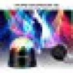 Viugreum® Lampe de Scène, 51 LED Projecteur RGB Couleur Jeux de Lumière Soirée Disco Noël Fête Anniversaire Marriage KTV Bar Club Concert (Auto/Sonore Commande) Strobe Puissant Magique Boule Cristal [Prise FR] de la marque Viugreum image 3 produit