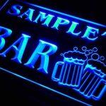 w008947-b NICE'S Nom Accueil Bar Pub Beer Mugs Cheers Neon Sign Biere Enseigne Lumineuse de la marque AdvPro Name image 1 produit