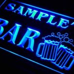 w071687-b JACKY'S Nom Accueil Bar Pub Beer Mugs Cheers Neon Sign Biere Enseigne Lumineuse de la marque AdvPro Name image 1 produit