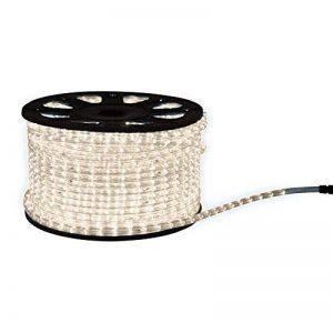 Webkaufhaus24 flexible lumineux à lED blanc 2–50 m de guirlande noël, Plastique, Blanc chaud, 50 m 100.00 watts 230.00 volts de la marque webkaufhaus24 image 0 produit