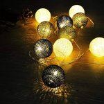 Weksi® 10LED Guirlandes Lumineuses Boules 1.55M Batterie Boule de Cordes pour Noël, Mariage, Patry, Decoration de la marque WEKSI INC image 1 produit