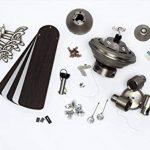 Westinghouse 7211440 Kingston Ventilateur de plafond GU10 Métal Aluminium brossé de la marque Westinghouse image 3 produit