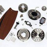 Westinghouse 7800740 Lavada Ventilateur de Plafond R7s 80 W Métal Chrome Satin de la marque Westinghouse image 2 produit