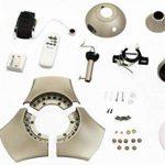 Westinghouse 7827040 Techno Ventilateur de plafond 10 W Métal Titane de la marque Westinghouse image 2 produit