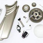 Westinghouse - Ventilateur de plafond avec lumière et télécommande - Ete ou hiver - Wave Form de la marque Westinghouse image 2 produit
