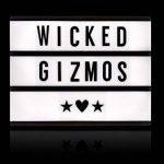 Wicked Gizmos® Boîte lumineuse à LED format A4- livrée avec 200lettres, chiffres et symboles-batterie USB ou piles de la marque WICKED GIZMOS image 4 produit
