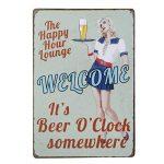 winomo Vintage métal étain signe Plaque murale Art Poster Cafe Bar Pub de de bière de la marque WINOMO image 1 produit