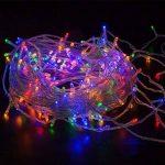 WISD Batterie Exploité LED Guirlande Lumineuse 11.5M 100 LED Light pour la fete, Noël, Jardin, mariage - Coloré de la marque WISD image 1 produit