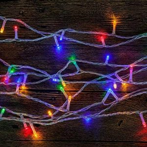 WISD Batterie Exploité LED Guirlande Lumineuse 6.5M 50 LED Light pour la fete, Noël, Jardin, mariage - Coloré de la marque WISD image 0 produit