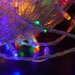 WISD Batterie Exploité LED Guirlande Lumineuse 6.5M 50 LED Light pour la fete, Noël, Jardin, mariage - Coloré de la marque WISD image 2 produit