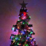 WISD Guirlande Lumineuse LED De Décoration en Coloré Pour Noël Mariage Jardin Partie,13m 100 LED Lumineuse avec 8 modes de fonction EU Plug - Coloré de la marque WISD image 4 produit