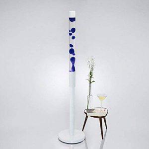 """'XXL Lampe à lave """"Paul 1,28M de haut en bleu avec armature Blanc/E1440W inclus/riesige Magma Lampe pour le salon chambre à coucher style rétro de la marque Licht-Erlebnisse image 0 produit"""