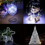 Yakamoz LED Guirlandes Lumineuses 10M 100 LEDs Comme Etoilées Lumières LED pour Noël Mariage Décoration d'extérieur et intérieure Blanc Froid Lumière Avec Boîte de Batterie de la marque Yakamoz image 4 produit