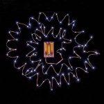 Yakamoz LED Guirlandes Lumineuses 10M 100 LEDs Comme Etoilées Lumières LED pour Noël Mariage Décoration d'extérieur et intérieure Blanc Froid Lumière Avec Boîte de Batterie de la marque Yakamoz image 1 produit