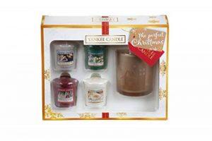 Yankee Candle Coffret Cadeau de 4 Votives/Photophore, Cire, Multicolore de la marque YANKEE CANDLE image 0 produit